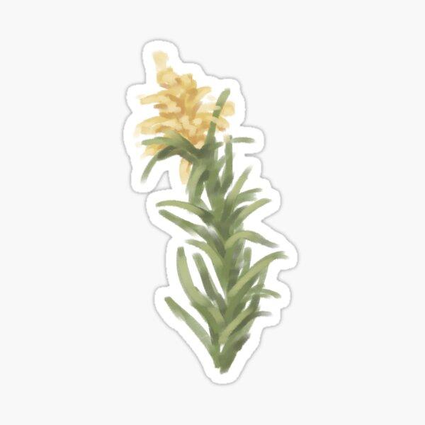 goldenrod doodle Sticker