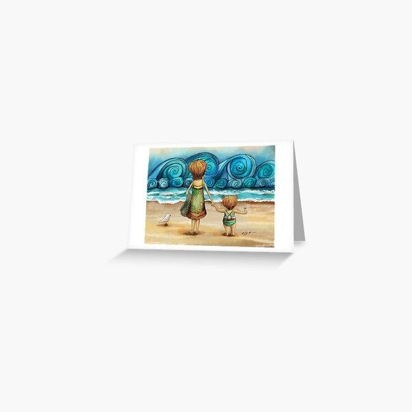 Beachcombers Greeting Card