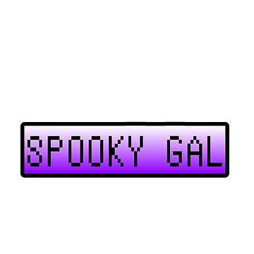 Spooky Gal by IjazAhmed1231