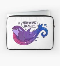Existentiwhale: Question Reality Laptop Sleeve