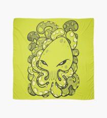 Octopus Squid Kraken Cthulhu Sea Creature - Lime Punch Scarf