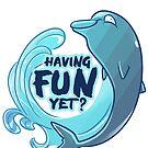 Existentiwhale: Having Fun? by derangedhyena