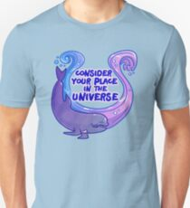 Existentiwhale: Consideration Slim Fit T-Shirt
