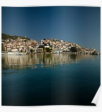 Skopelos bay Poster