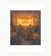 Lámina artística El templo del fuego