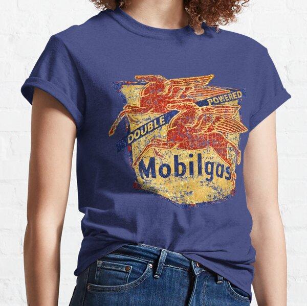 Double Powered Pegasus vintage Mobilgas sign Classic T-Shirt
