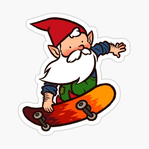 SK8R GNOME!!! Sticker