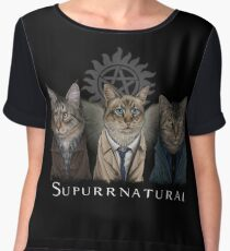 Supurrnatural Chiffon Top