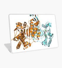 #Enzyme #Informatics, #EnzymeInformatics, #particle #chemistry #medicine #biology #science #biochemistry #shape #chemical #illustration #acid #connection #design #symbol #molecular #insect #horizontal Laptop Skin