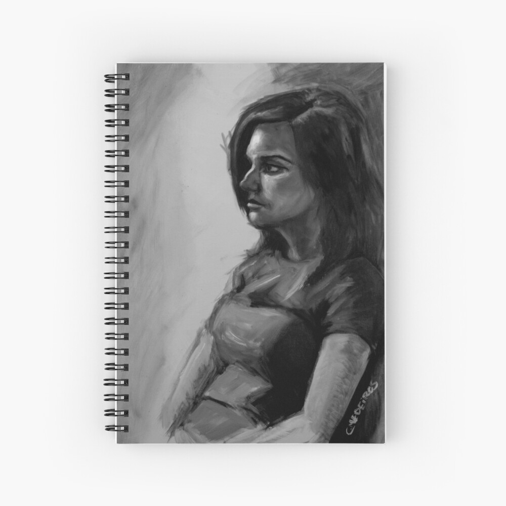 Life painting Spiral Notebook