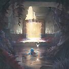 The Water Temple by tomgardenart