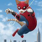 Spider-Cat by Jenny Parks