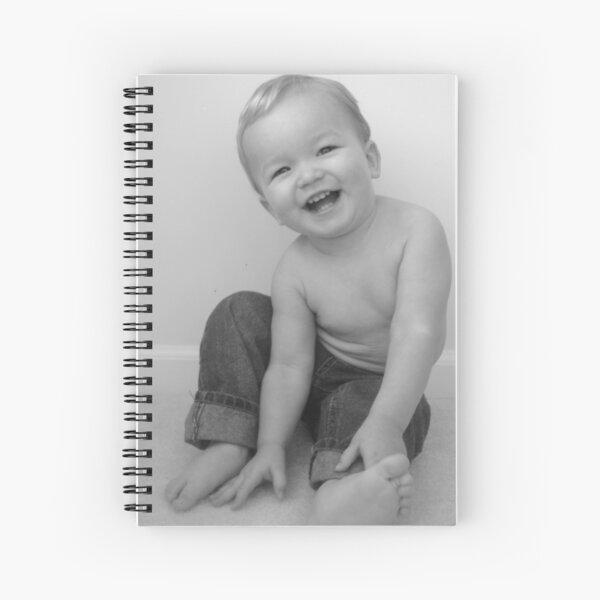 Bright Side Baby  Spiral Notebook