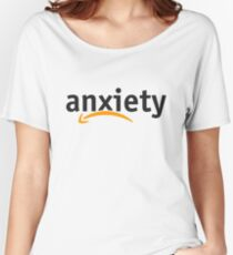 Anxiety Amazon Logo Relaxed Fit T-Shirt