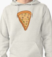 Veggie Pizza Slice- Mushroom and olives, yum! Pullover Hoodie