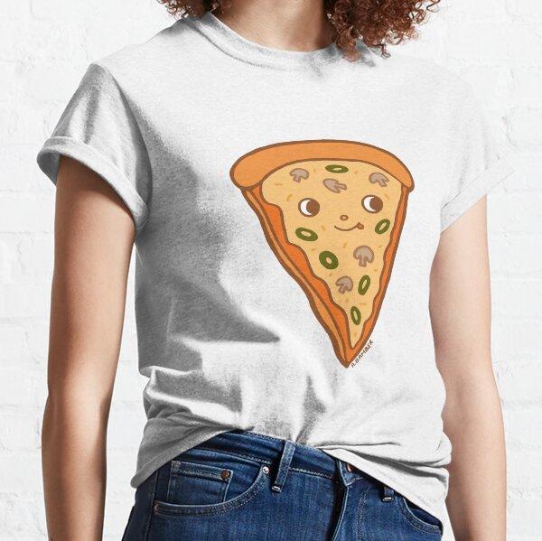 Veggie Pizza Slice- Mushroom and olives, yum! Classic T-Shirt