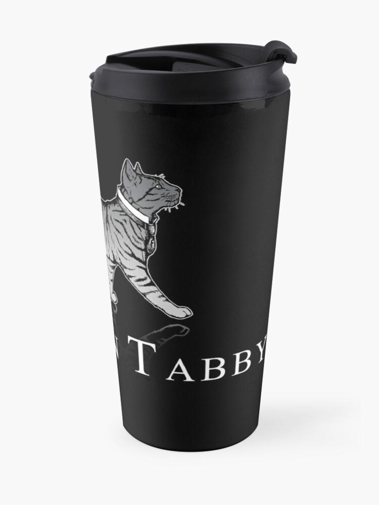 Alternate view of Downton Tabby Travel Mug