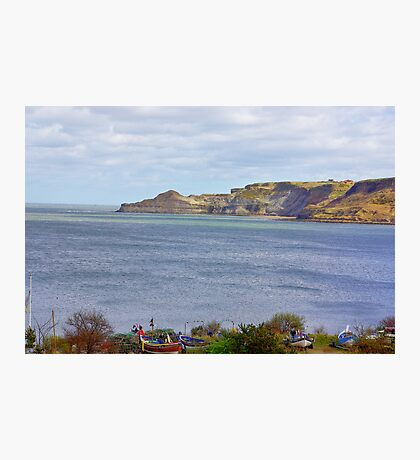 Runswick Bay Photographic Print