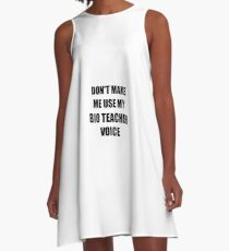 Bio Teacher Gift for Coworkers Funny Present Idea A-Line Dress