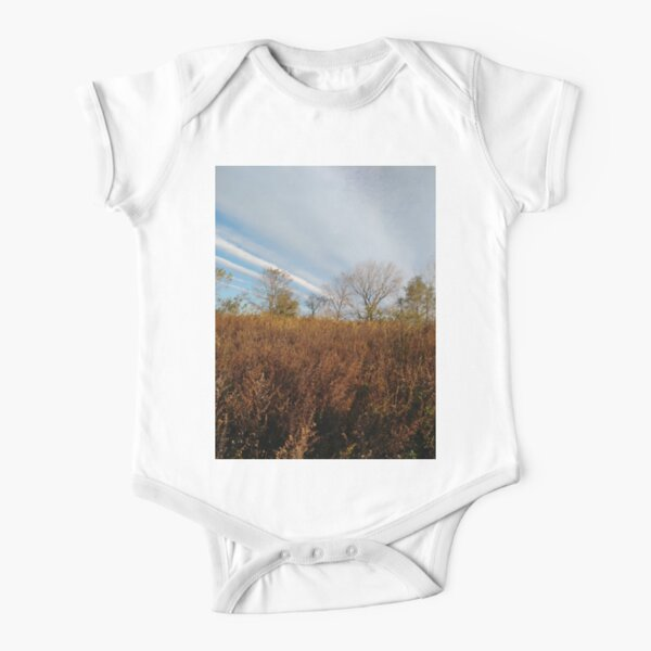 #Trees #Plants #abstract, #pattern, #texture, #circle, #design, #spiral, #metal, #blue, #wallpaper, #art Short Sleeve Baby One-Piece