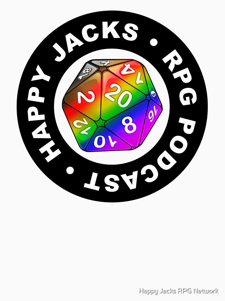 Happy Jacks Rainbow Logo by happyjacksrpg