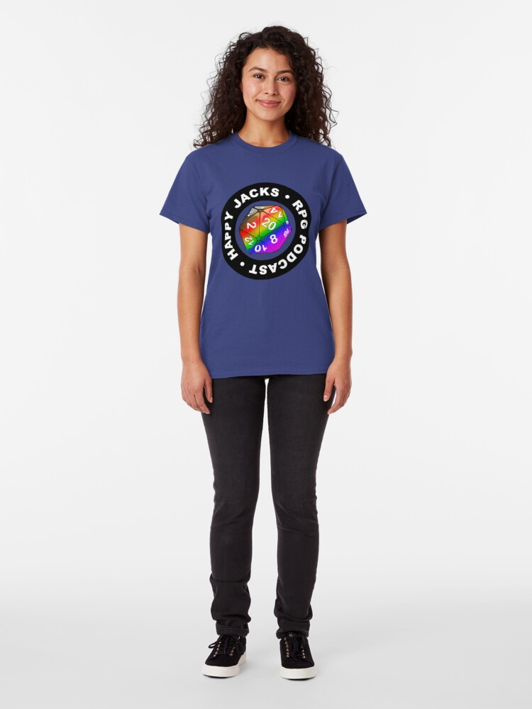 Alternate view of Happy Jacks Rainbow Logo Classic T-Shirt