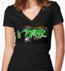 Untitled # 3 Women's Fitted V-Neck T-Shirt