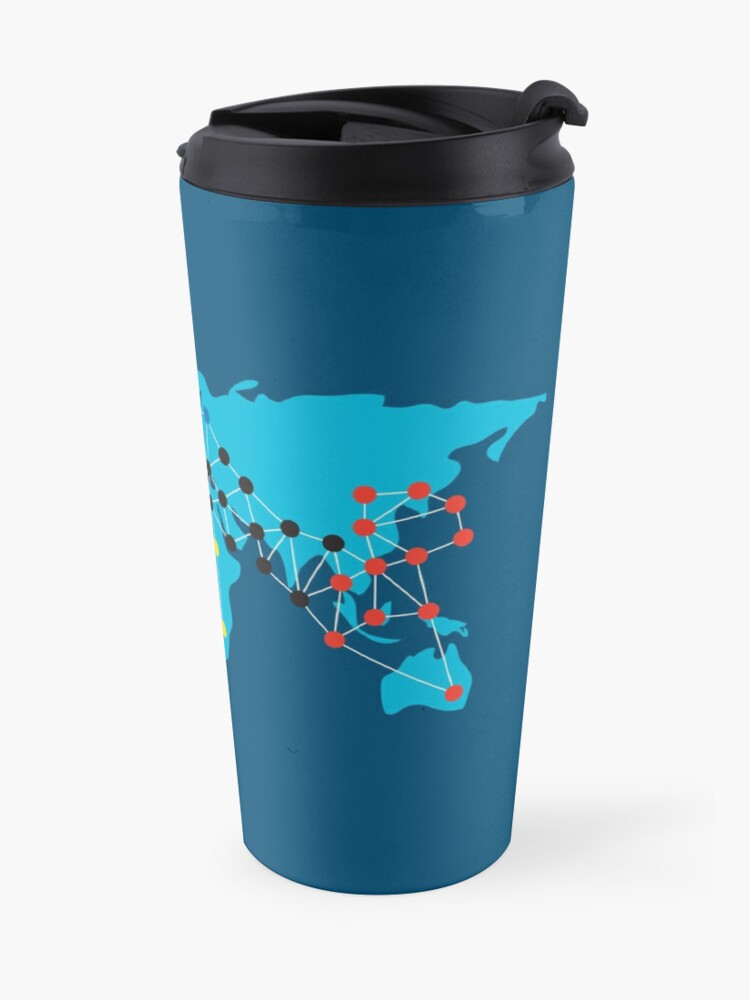 Alternate view of Pandemia Boardgames Travel Mug