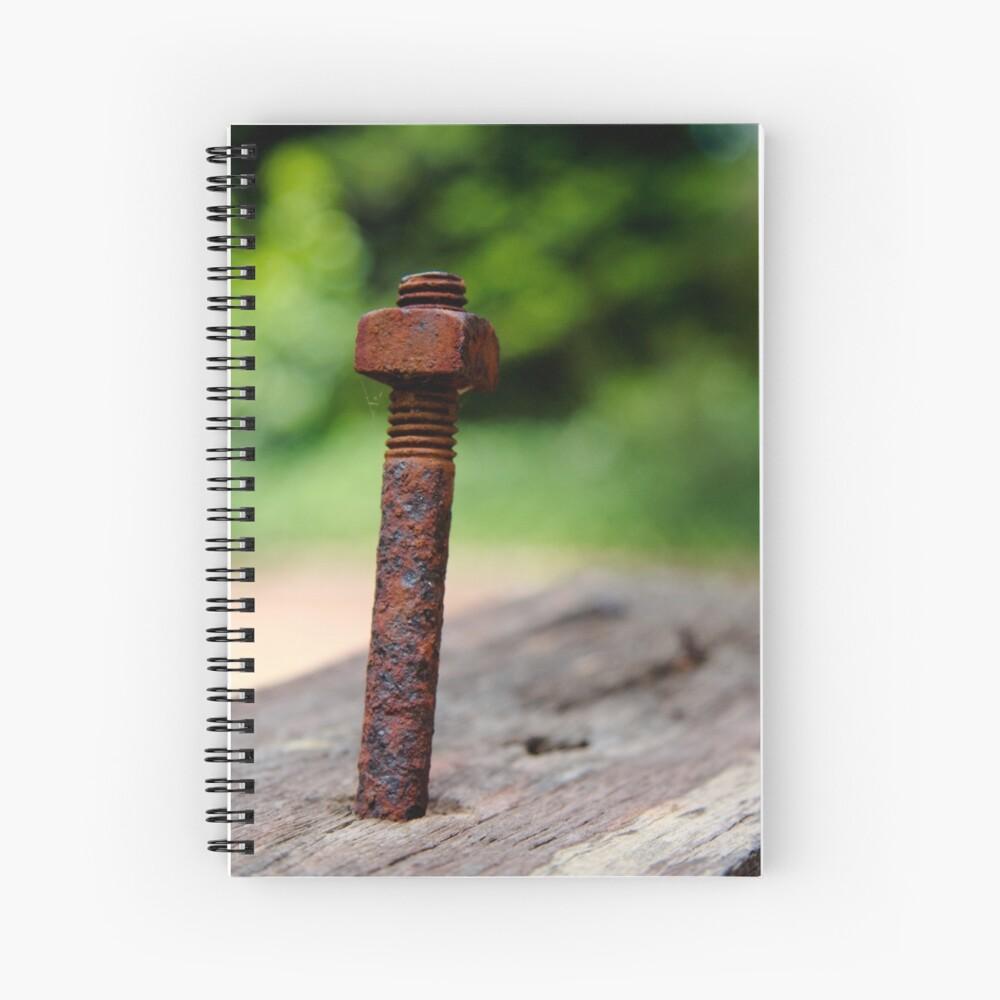 Nut & bolt Spiral Notebook