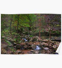Blanchard Springs Little Stream Poster