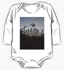 #plant #leaf #morning #grass #landscape #tree #sky #nature #outdoors #wood #environment #weather #vertical #branch #plantpart #nopeople #sunrise #dawn #light #naturalphenomenon #nonurbanscene #day One Piece - Long Sleeve