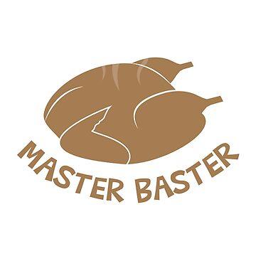 Master Baster Thanksgiving Day Turkey T shirt by 3familyllc