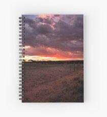 Sun Set Spiral Notebook
