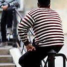 Venice Gondoliers by Neil Buchan-Grant