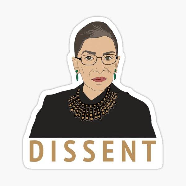 DISSENT RBG Sticker