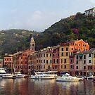 portofino panorama by Neil Buchan-Grant
