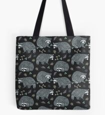 Raccoons! Design 42 / 365 Days of Design Tote Bag