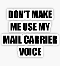 Funny Mail Carrier Stickers Redbubble