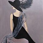 A Vintage Fashion Model by Dian Bernardo