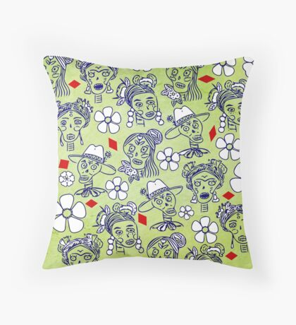 I Want Your Skull Throw Pillow