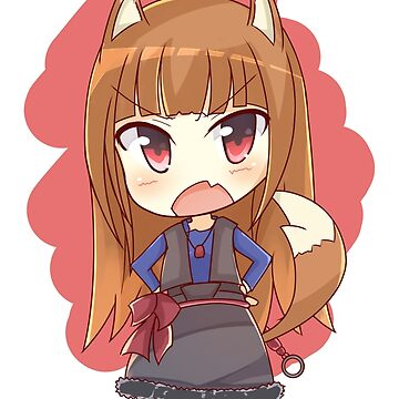 Chibi Horo - Spice and Wolf by hml16