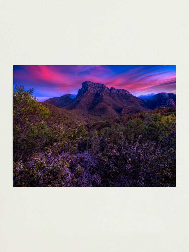 Alternate view of Bulla Meela Sunset Photographic Print