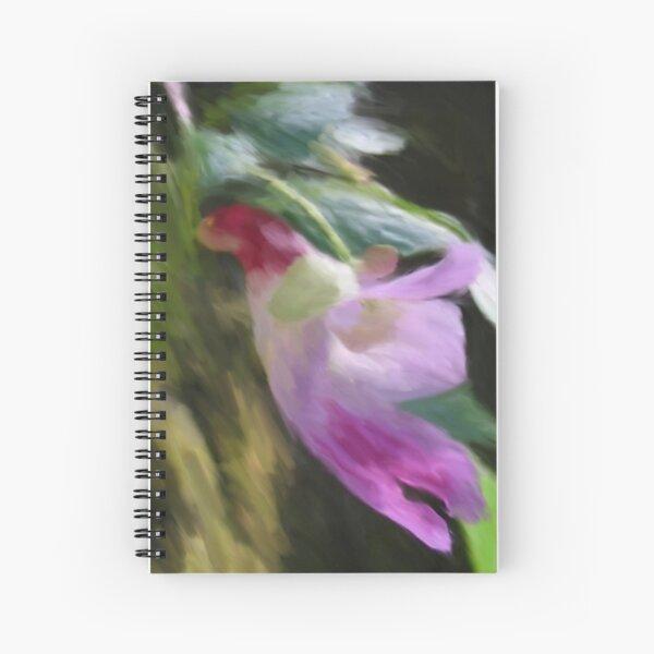 Parrot Flower Spiral Notebook