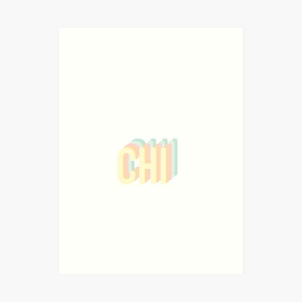 Chi Rainbow 3D Art Print