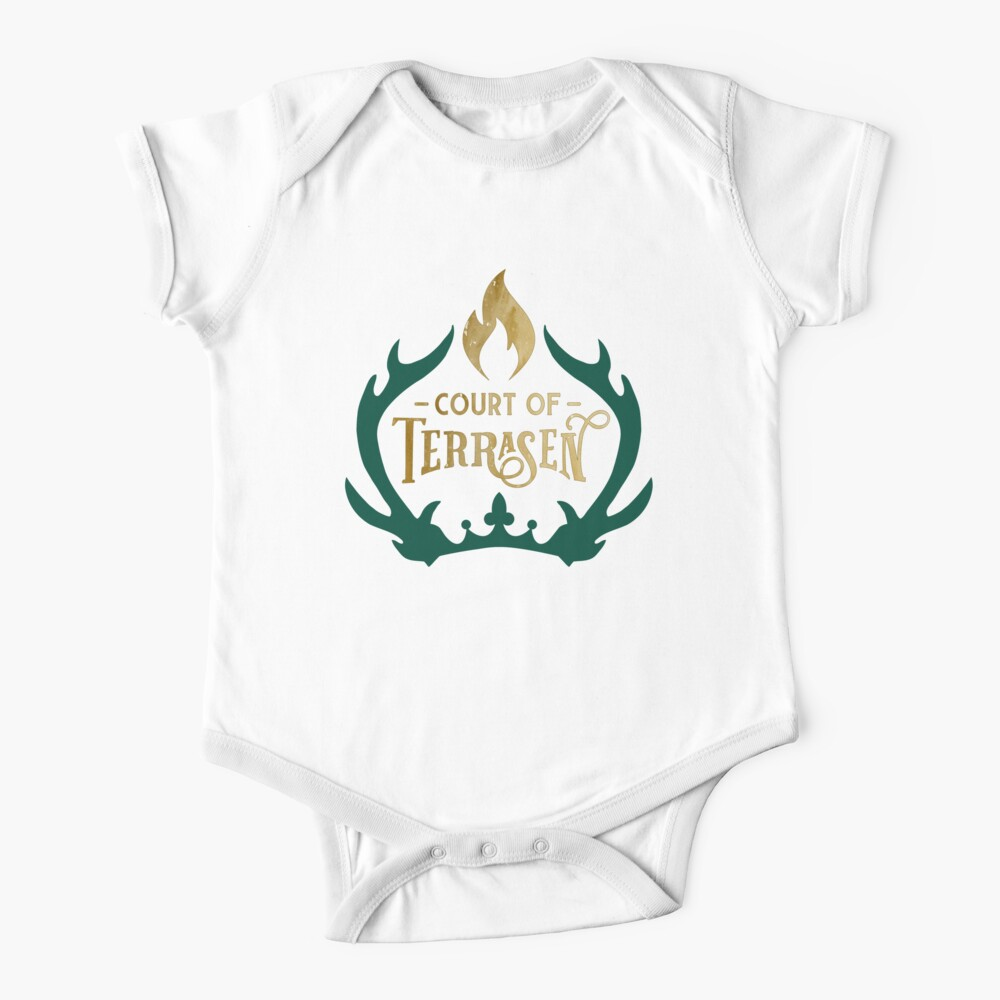Court of Terrasen - Throne of Glass Baby One-Piece