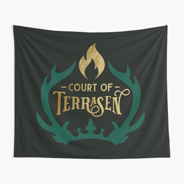 Court of Terrasen - Throne of Glass Tapestry