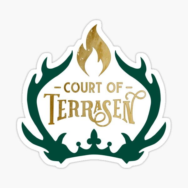 Court of Terrasen - Throne of Glass Sticker
