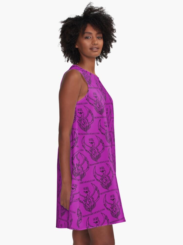 Alternate view of Ronon's Reviews Official Merch A-Line Dress
