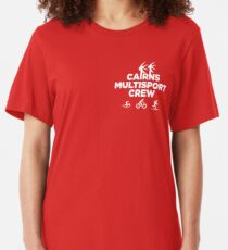 Cairns MultiSport Crew - small logo Slim Fit T-Shirt