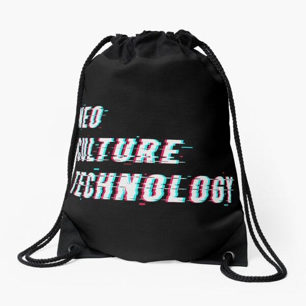 NCT - Neo Culture Technology Glitch 3D Design Drawstring Bag